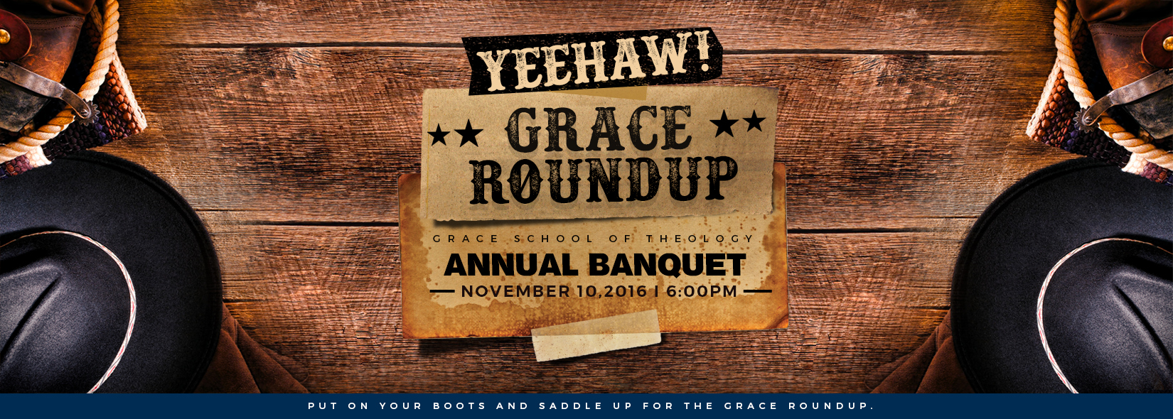 Grace Round Up @ Grace School of Theology